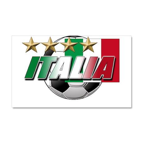 Italian soccer emblem Car Magnet 20 x 12