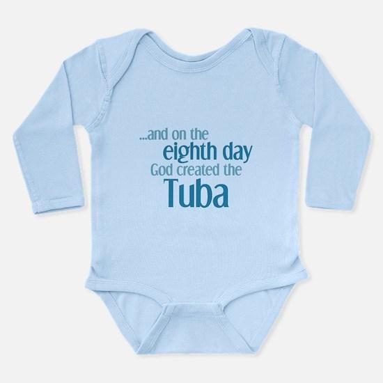 Tuba Creation Long Sleeve Infant Bodysuit