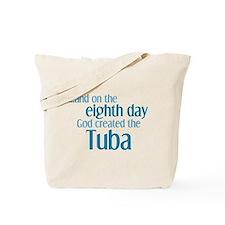 Tuba Creation Tote Bag
