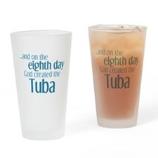 Tuba Creation Drinking Glass