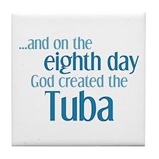 Tuba Creation Tile Coaster
