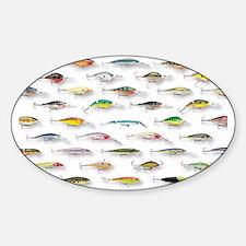 Unique Fish Sticker (Oval)