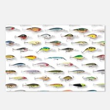 Cute Fishing Postcards (Package of 8)