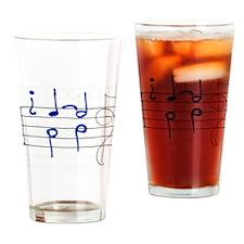 Cute Cadence Drinking Glass