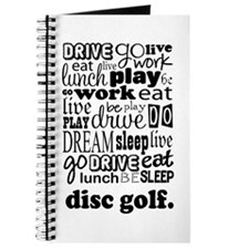 Disc Golf Gift Journal