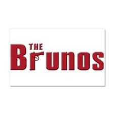 The Bruno family Car Magnet 20 x 12