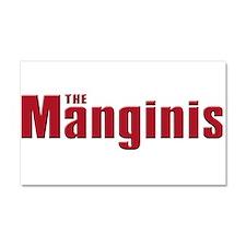 The Mangini family Car Magnet 20 x 12