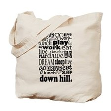 Downhill Gift Tote Bag