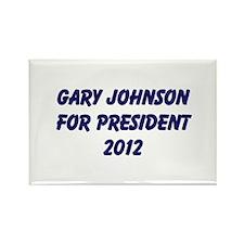Gary Johnson For President 20 Rectangle Magnet (10