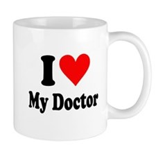 I Love My Doctor: Mug