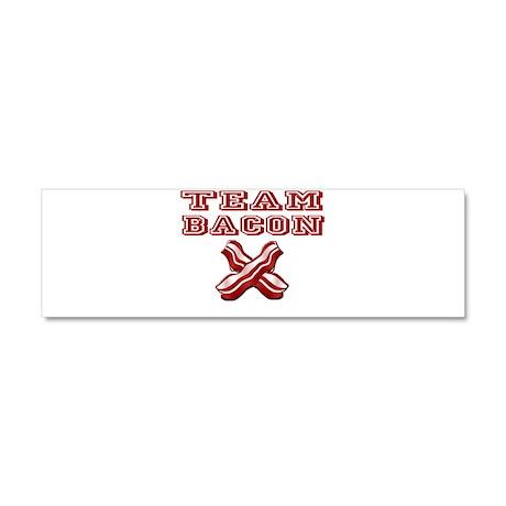 TEAM BACON Car Magnet 10 x 3