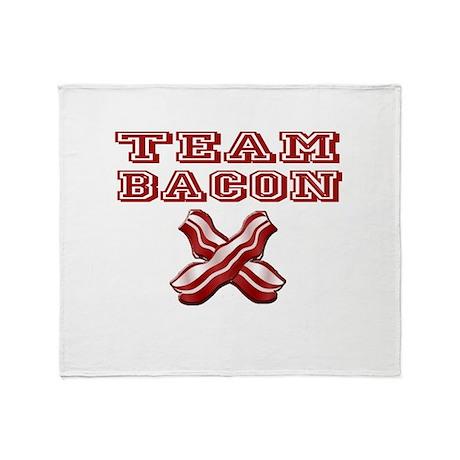 TEAM BACON Throw Blanket