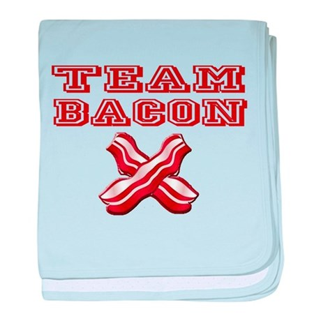 TEAM BACON baby blanket