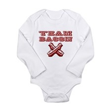 TEAM BACON Long Sleeve Infant Bodysuit