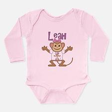 Little Monkey Leah Long Sleeve Infant Bodysuit