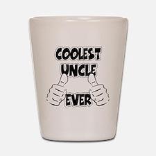 Coolest Uncle Ever Shot Glass
