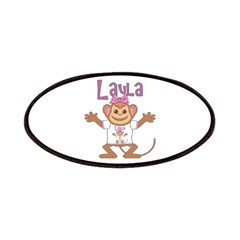 Little Monkey Layla Patches