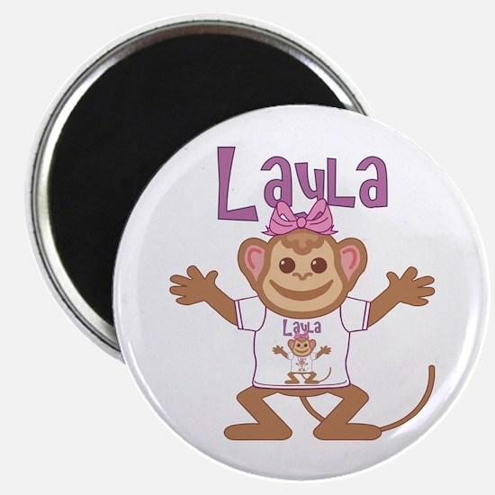 Little Monkey Layla Magnet