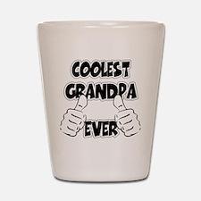 Coolest Grandpa Ever Shot Glass
