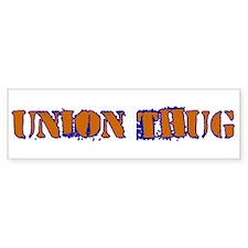 Original Union Thug Car Sticker