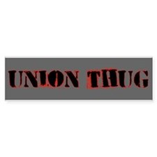 Original Union Thug Bumper Sticker