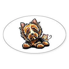 Norwich Terrier Cartoon Decal