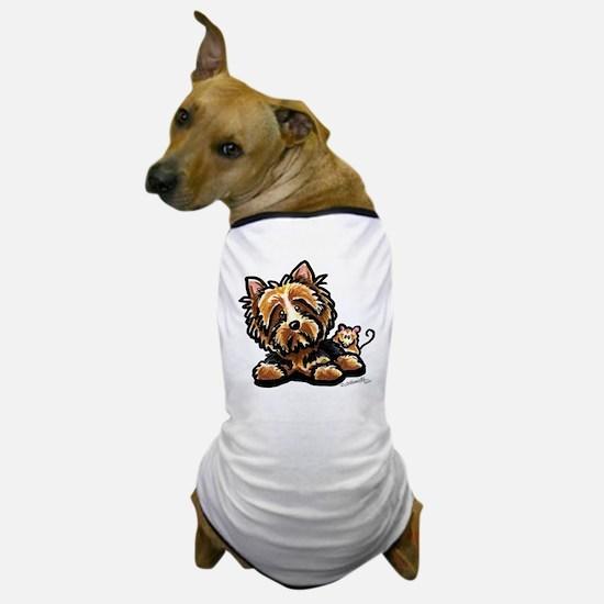 Norwich Terrier Cartoon Dog T-Shirt