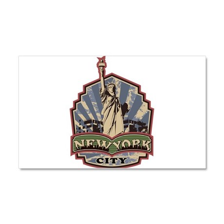 New York City Car Magnet 20 x 12