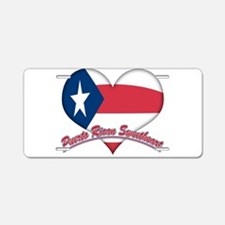 Puerto Rican Sweetheart Aluminum License Plate