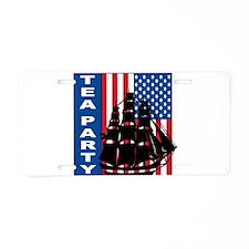 2009 Tea party Aluminum License Plate