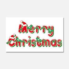 Merry Christmas Car Magnet 20 x 12