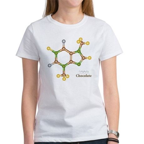 Chocolate Molecule Women's T-Shirt