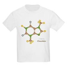 Chocolate Molecule Kids T-Shirt