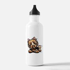 Norwich Terrier Cartoon Water Bottle