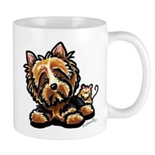 Norwich Terrier Cartoon Mug