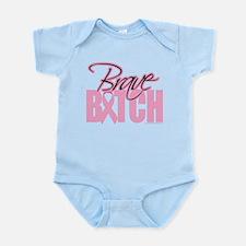 Unique Save the boobs Infant Bodysuit