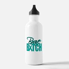Brave Bitch Cervical Cancer Water Bottle