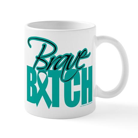 Brave Bitch Cervical Cancer Mug