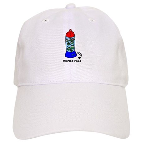 Whirled Peas (World Peace!) Cap