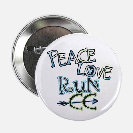 "Peace Love Run CC 2.25"" Button"