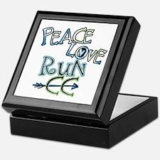 Peace Love Run CC Keepsake Box