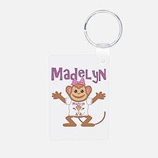Little Monkey Madelyn Keychains
