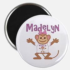 Little Monkey Madelyn Magnet