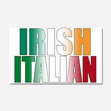 Irish Italian Car Magnet 20 x 12