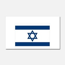 Support Isreal Car Magnet 20 x 12