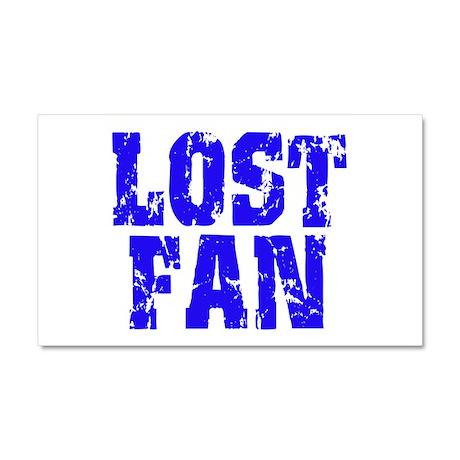 Lost Fan Car Magnet 20 x 12