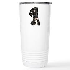 Happy N B&W Travel Mug