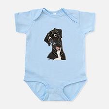 Happy N B&W Infant Bodysuit
