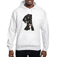 Happy N B&W Hoodie Sweatshirt