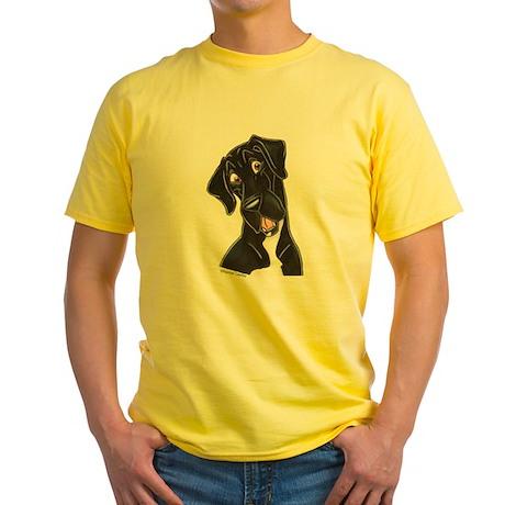 Happy N B&W Yellow T-Shirt